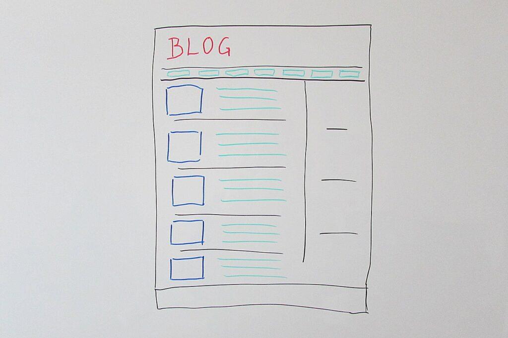 blog, web page, web design